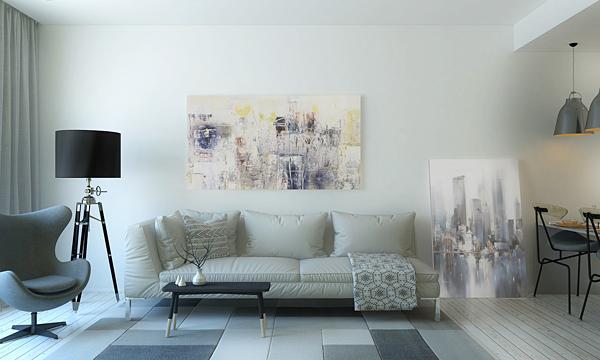 Canapé - Appartement meublé