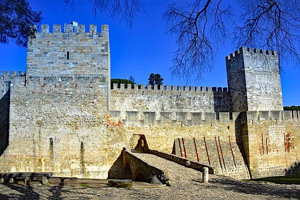 Castelo Sao Jorge, Lisbonne