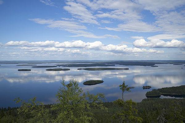 Lac en Finlande