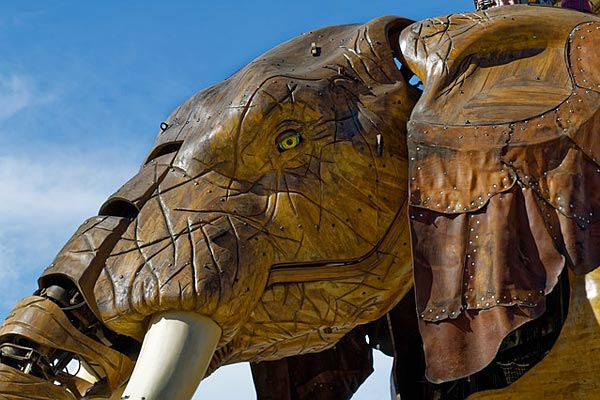 elephant Nantes - Royal de Luxe