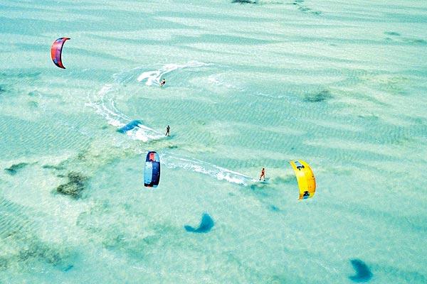 Kitesurf à Zanzibar