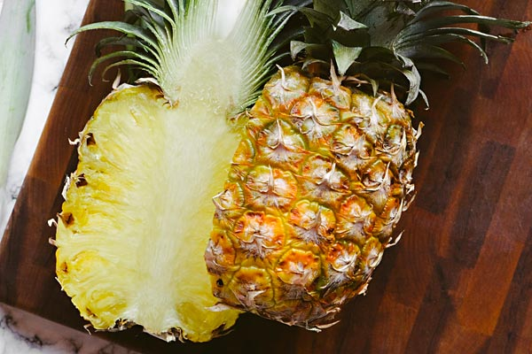 Coeur d'ananas