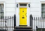 Porte jaune