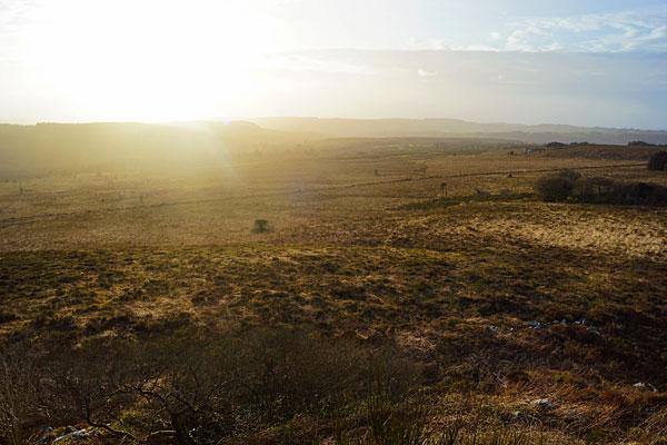 Vue sur les Monts d'Arrée